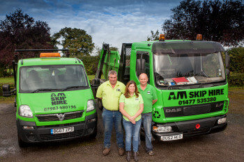 AM Skip hire - meet the team