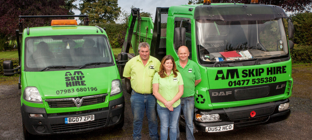 Skip hire & waste disposal services