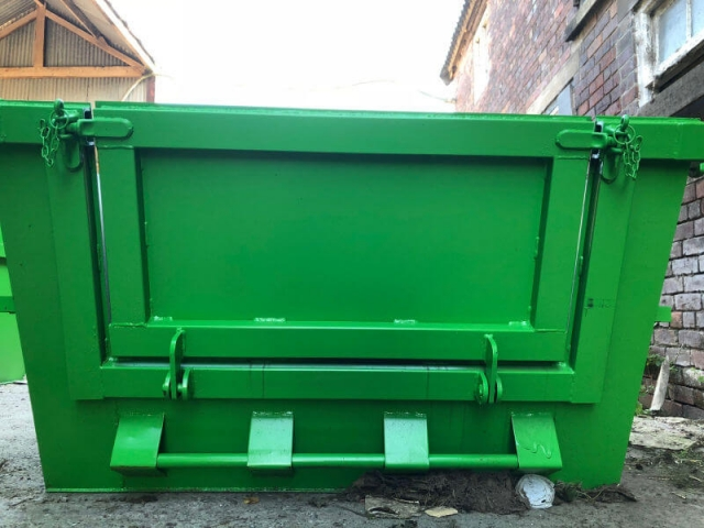 Cheshire AM Skip Hire Midi Door